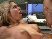 Hot Gal Doctor Rides Reanimated Guy's Thick Dick
