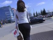 Candid Mall Ass in Yoga Pants + Interaction with Her