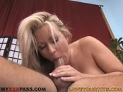Fiery Awesome-Titted Blonde Chick Loves Stiffy Riding