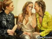 Wam Clothed Women Have Fun With Strap-On