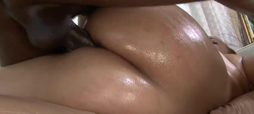 Ebony slut sucks cock and fucks black eager sausage