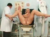 Pretty Blonde Goes To Practitioner For Vag Examination
