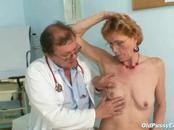 Older Lady Receives Sexual Pussy Checkup